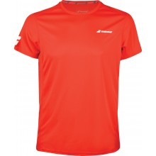 Tee-Shirt Babolat Junior Flag Core Club Rouge