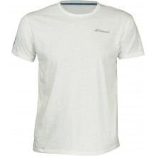 Tee-Shirt Babolat Junior Core Club Blanc