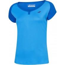 Tee-Shirt Babolat Junior Fille Play Bleu