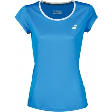Tee-Shirt Babolat Junior Fille Flag Core Club Bleu