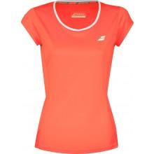 Tee-Shirt Babolat Junior Fille Flag Core Club Orange