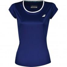 Tee-Shirt Babolat Junior Fille Flag Core Club Bleu