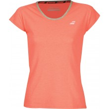 Tee-Shirt Babolat Junior Fille Core Club Saumon