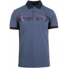 Polo EA7 Tennis Casual Sporty Logo Bleu