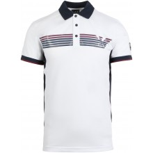 Polo EA7 Casual Sporty Logo Blanc