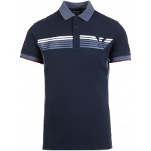 Polo EA7 Tennis Casual Sporty Logo Marine