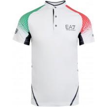 Polo EA7 Tennis Pro Dynamic Blanc