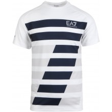 Tee-Shirt EA7 Tennis Pro Dynamic Graphic Blanc