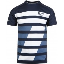Tee-Shirt EA7 Tennis Pro Dynamic Graphic Bleu