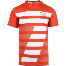 Tee-Shirt EA7 Tennis Pro Dynamic Graphic Rouge