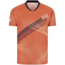 Tee-Shirt EA7 Tennis Fognini Orange