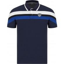 Polo EA7 Tennis Club PQ Shield Bleu