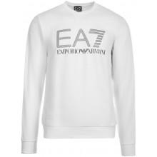 Sweat EA7 Training Sporty Visibility Blanc