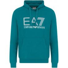 Sweat à Capuche EA7 Training Sporty Visibility Bleu