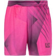 Short EA7 Tennis Pro Graphic Rose