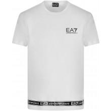 Tee-Shirt EA7 Training Sporty Logo Series Blanc