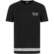 Tee-Shirt EA7 Training Sporty Logo Series Noir