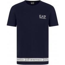 Tee-Shirt EA7 Training Sporty Logo Series Marine