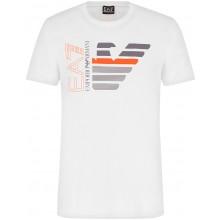 Tee-Shirt EA7 Training Sporty Graphic Series Blanc