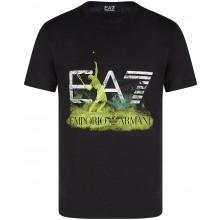 Tee-Shirt EA7 Training Sporty Graphic Series Noir