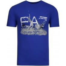 Tee-Shirt EA7 Training Sporty Graphic Series Bleu
