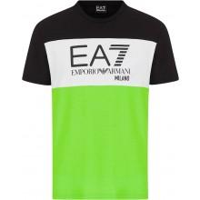 Tee-Shirt EA7 Training Sporty Colour Flash Noir
