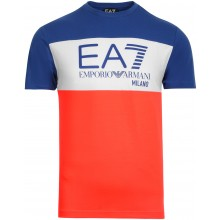 Tee-Shirt EA7 Training Sporty Colour Flash Bleu