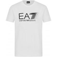 Tee-Shirt EA7 Training Sporty 7 Lines Blanc