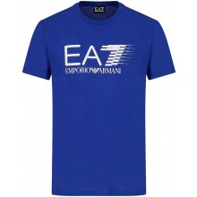 Tee-Shirt EA7 Training Sporty 7 Lines Bleu