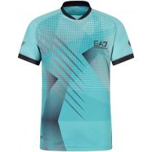 Tee-Shirt EA7 Tennis Pro Graphic Bleu