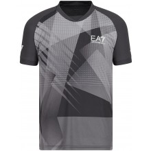 Tee-Shirt EA7 Tennis Pro Graphic Anthracite