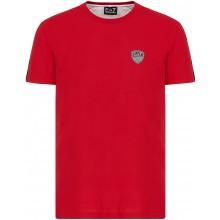 Tee-Shirt EA7 Tennis Club PQ Shield Rouge