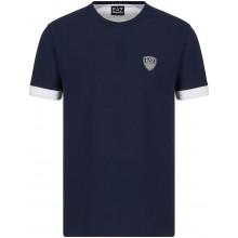 Tee-Shirt EA7 Tennis Club PQ Shield Marine