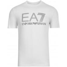 Tee-Shirt EA7 Training Sporty Visibility Blanc