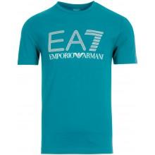 Tee-Shirt EA7 Training Sporty Visibility Bleu