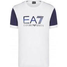 Tee-Shirt EA7 Tennis Club JS Logo Blanc