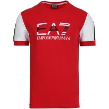 Tee-Shirt EA7 Tennis Club JS Logo Rouge
