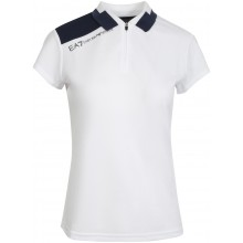 Polo EA7 Femme Tennis Pro Blanc