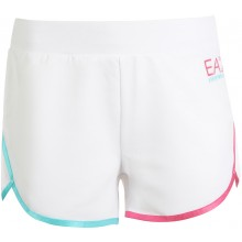 Short EA7 Femme Training Dynamic Athlète Natural Blanc