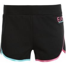 Short EA7 Femme Training Dynamic Athlète Natural Noir