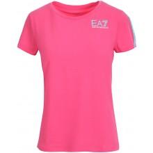 Tee-Shirt EA7 Femme Training Dynamic Athlete Natural Rose