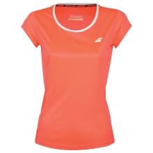 Tee-Shirt Babolat Femme Core Flag Club Orange