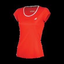 Tee-Shirt Babolat Femme Core Flag Club Rouge