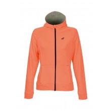 Sweat Zippé Babolat Femme Hood Core Club Orange