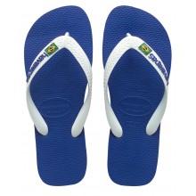 Tongs Havaianas Junior Brasil Logo Bleues