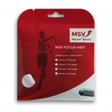 Cordage MSV Focus Hex Blanc (12 Mètres)