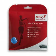 Cordage MSV Focus HEX Bleu (12 mètres)