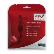 Cordage MSV Focus Hex Rouge (12 mètres)