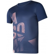Tee-Shirt Babolat Junior Exercise Big Babolat Bleu