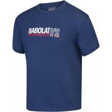 Tee-Shirt Babolat Exercise Vintage Bleu